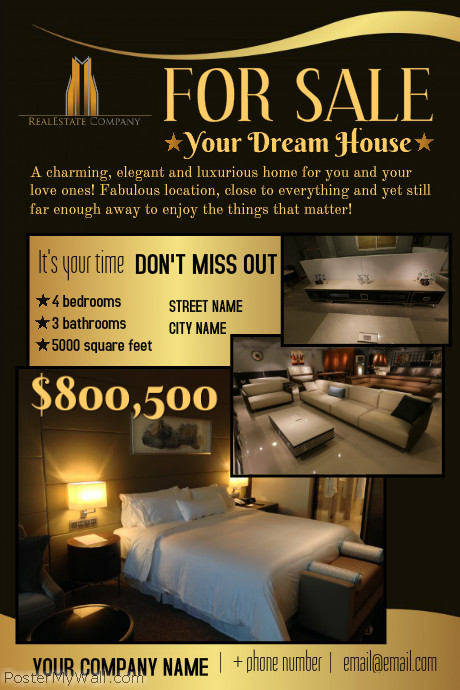 Luxury Open House Flyer - open house flyer