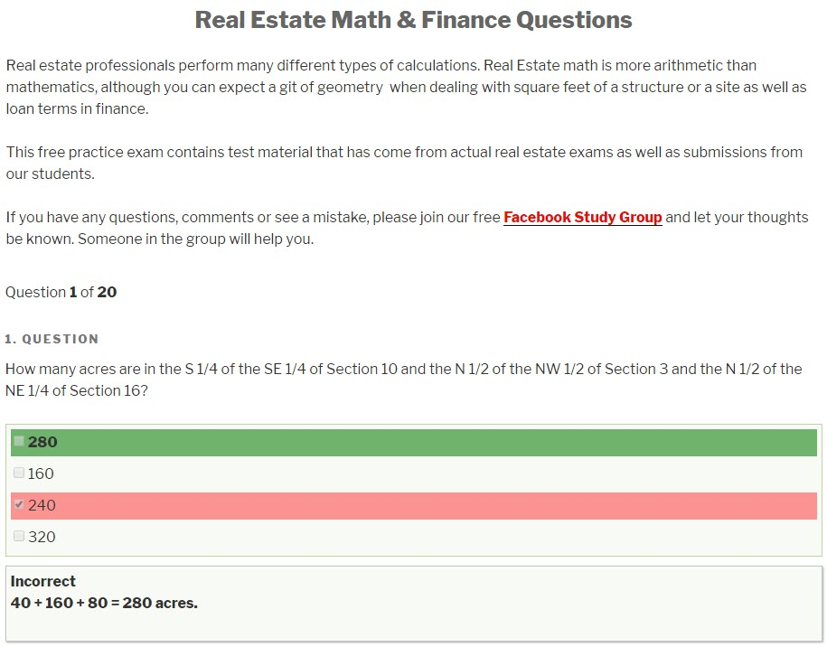 Real Estate Exam Ninja - real estate practice exam