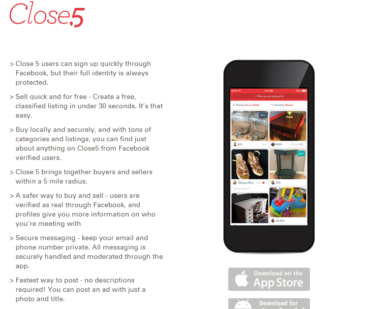 Close5 App - Free Advertising Sites