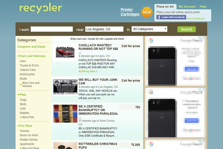 Recycler - Free Advertising Sites