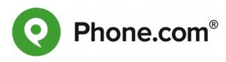 Phone.com - auto attendant