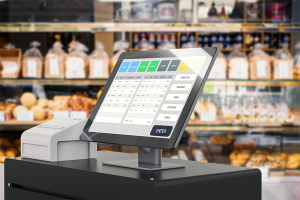 Screen with a Free POS Software