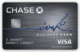 Business Cash Credit Card, Chase Ink