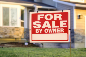 Real Estate for Sale signboard