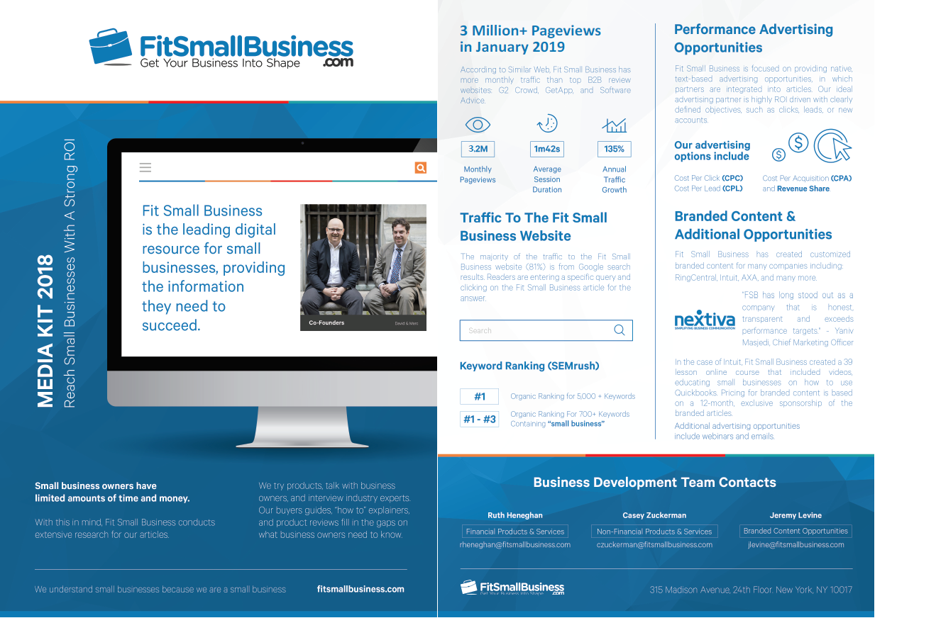 Fit Small Business Media Kit