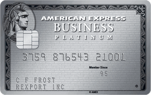 American Express Business Platinum Card® best high limit business credit cards