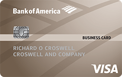 Bank of America Platinum Visa Business best small business credit card