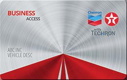 Chevron Texaco Business Access Card