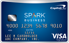 Capital One Spark Miles best high limit business credit cards