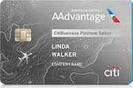 CitiBusiness - AAdvantage Platinum Select World Mastercard - best business credit cards for travel