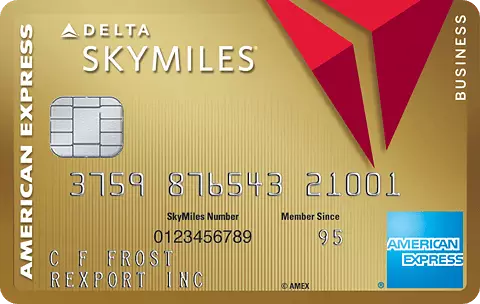 American Express - Gold Delta SkyMiles Business Credit Card - best business credit cards for travel