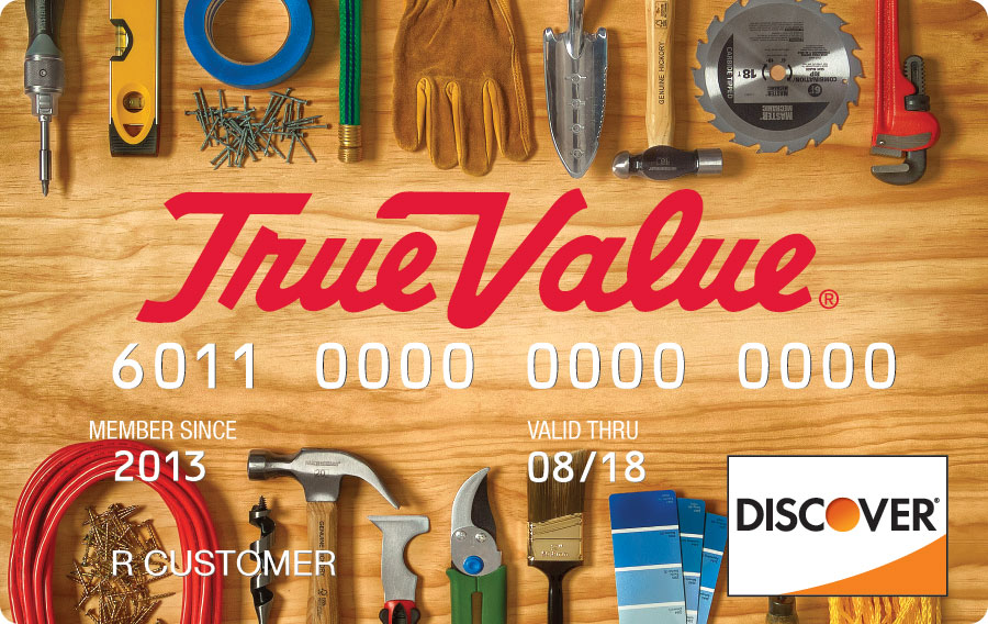True Value - Credit Card - home improvement credit card