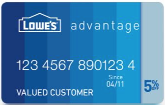 Lowe's - Credit Card - home improvement credit card