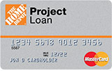Home Depot Project Loan Card - home improvement credit card