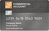 Home Depot Commercial Account Card - home improvement credit card