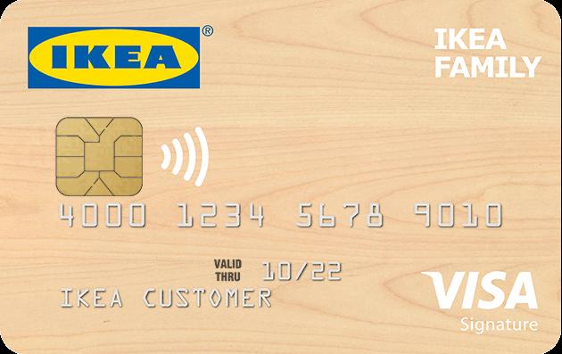 Ikea - Visa Credit Card - home improvement credit card