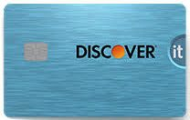 Cash Back Credit Card, Discover it