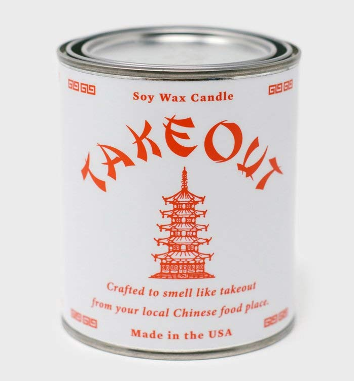 Chinese Food Scented Candle