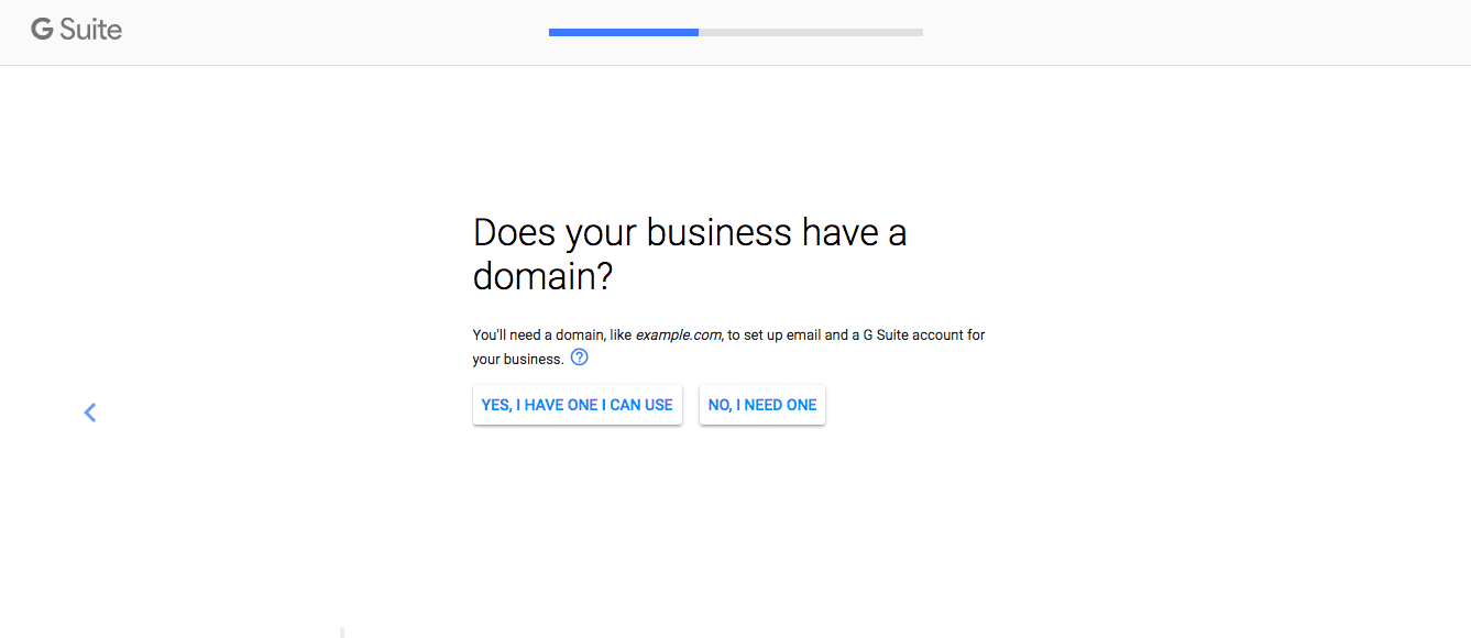 Connect Your Domain to G Suite