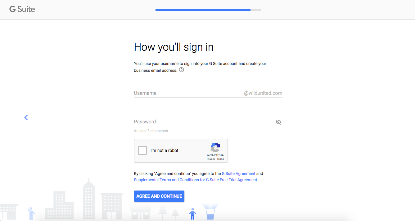 Sign in page for Gmail