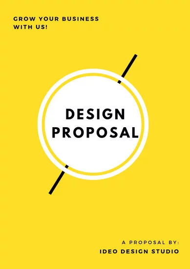 Canva - Business proposal template