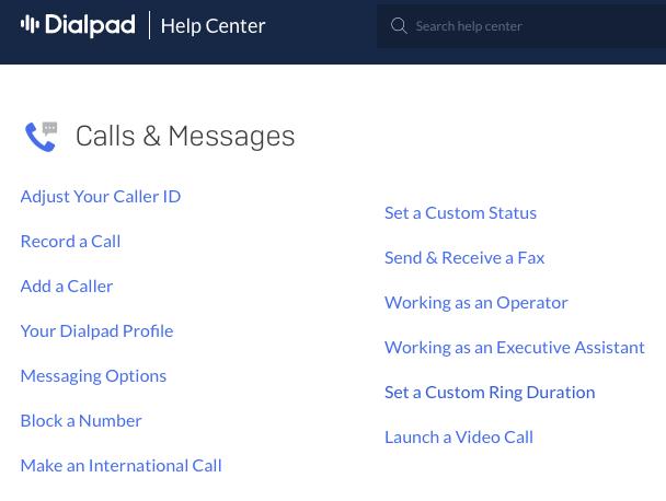 Dialpad Help Center - dialpad vs ringcentral
