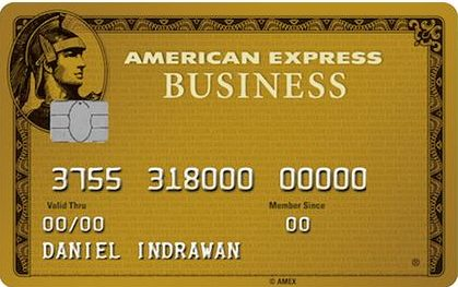 American Express Business Gold Card best high limit business credit cards