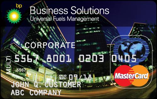 BP Business Solutions Fleet Card