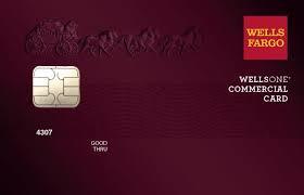 WellsOne Commercial Card, Wells Fargo
