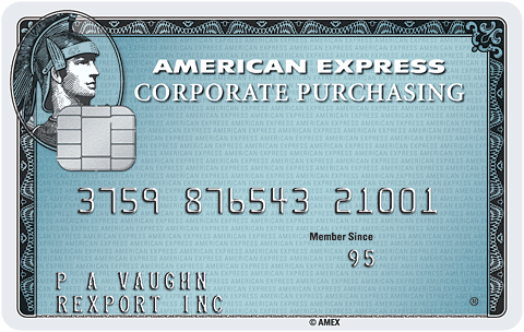 Purchasing Card, American Express