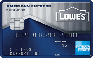Lowe's Business Rewards Card from American Express File name: