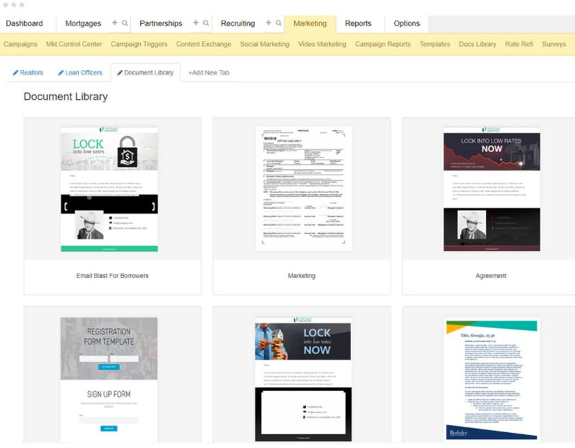 BNTouch document library sample