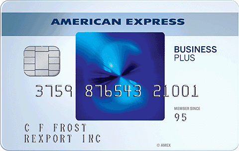 Blue BusinessSM Plus Credit Card