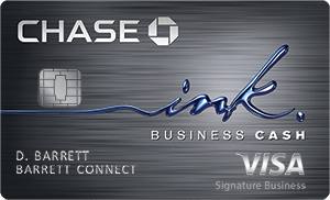 Chase Ink Business CashSM best small business credit card