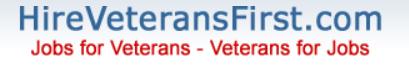 Hire Veterans First logo