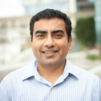 headshot of Mihir Kroke, Able Lending