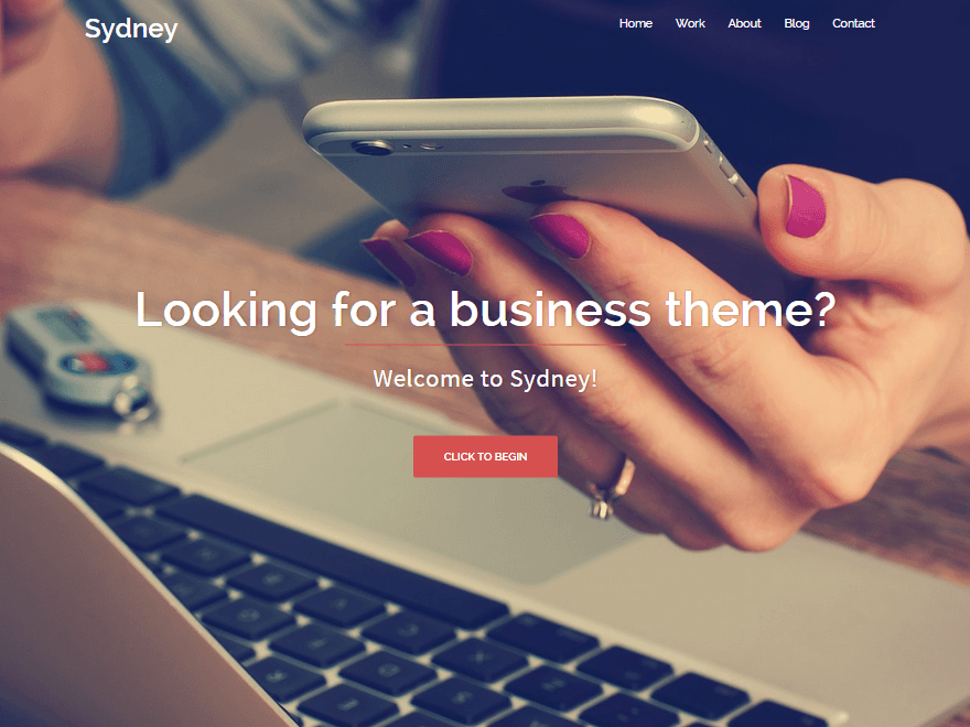 Sydney - wordpress themes for business