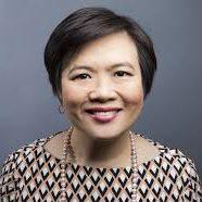 headshot of Sally Poblete, CEO, Wellthie