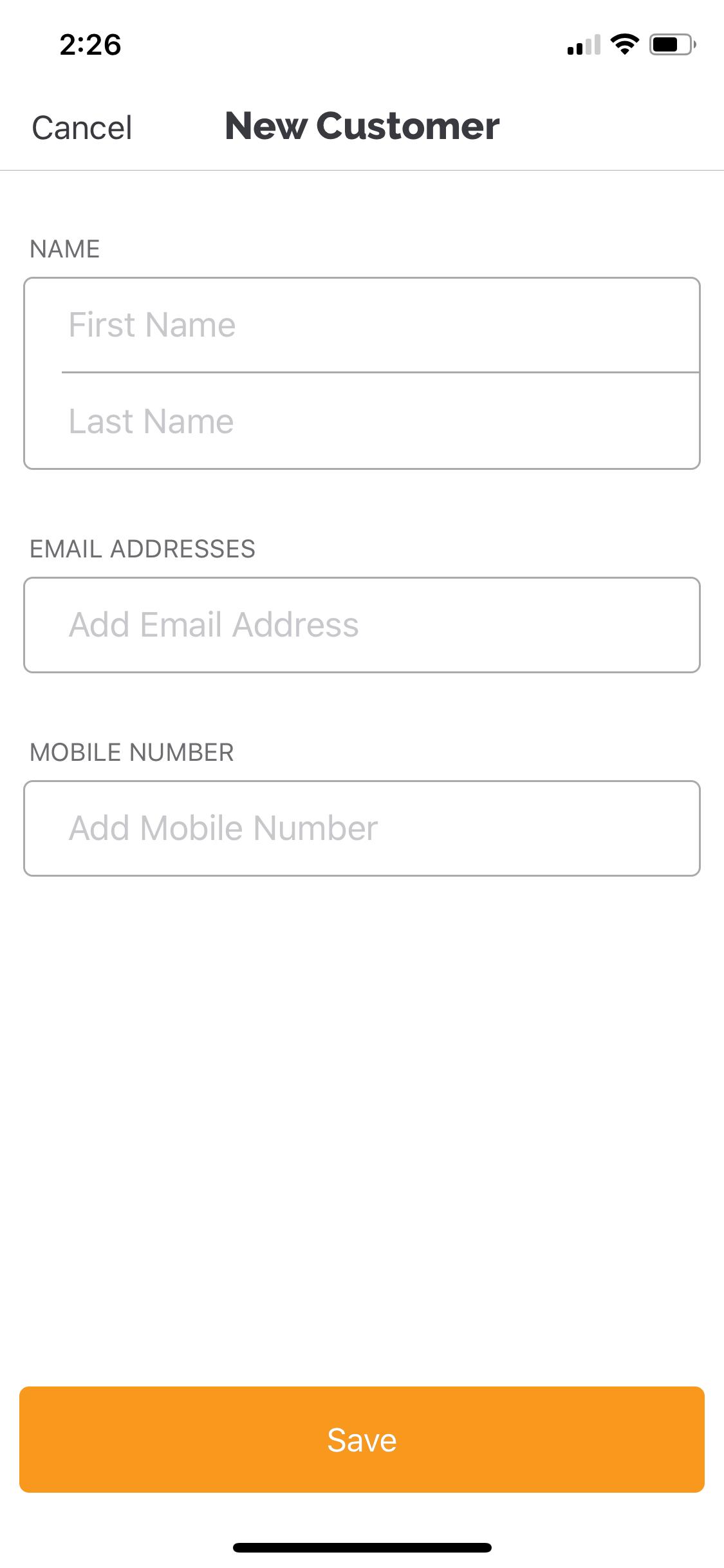 payanywhere new customer interface
