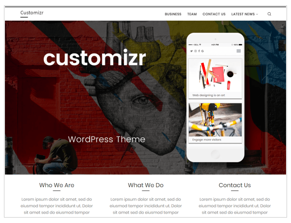 Customizr - wordpress themes for business