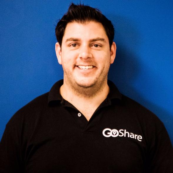 headshot of Shaun Savage CEO, Founder, GoShare
