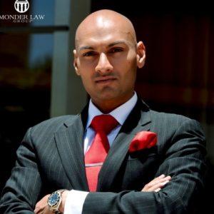headshot of Viktor Monder, Founder, Monder Law Group, PC