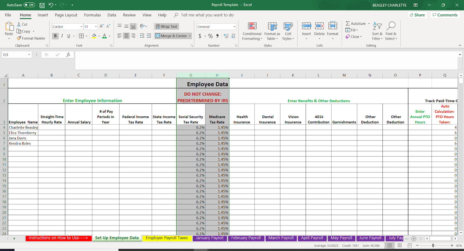 How to Do Payroll in Excel [+ Free Template]
