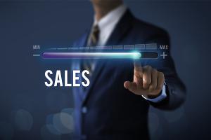 increasing sales concept