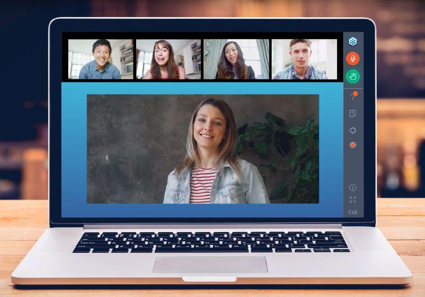 GoToWebinar Video Call Interface