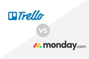 trello and monday.com logo