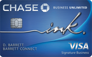 Chase Ink Business Unlimited - business credit cards for startups