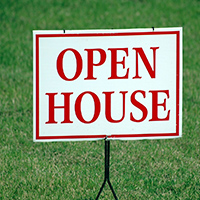 Open House - real estate lead generation