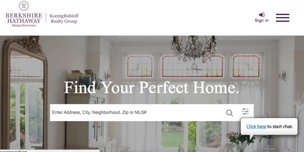 Koenig Rubloff - best real estate agent websites