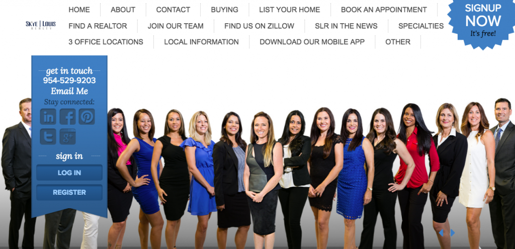 Skye Louis Realty - best real estate agent websites